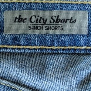 Ag Adriano Goldschmied Shorts - AG denim The City Shorts
